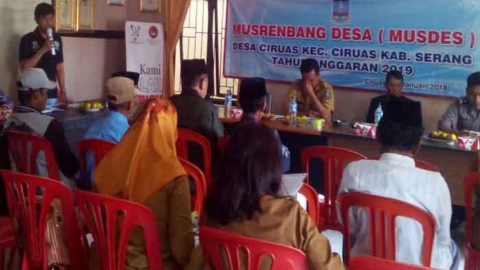 Musrembang (MUSDES) Desa Ciruas Kecamatan Ciruas
