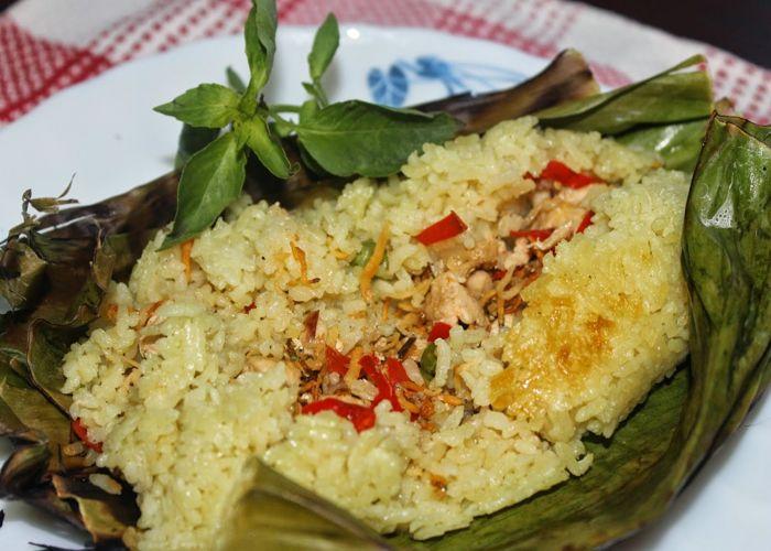 Resep Nasi Bakar Spesial
